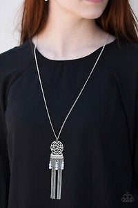 Paparazzi Western Wayward Silver Necklace