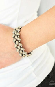 Paparazzi Vintage Venture Brown Stretchy Bracelet