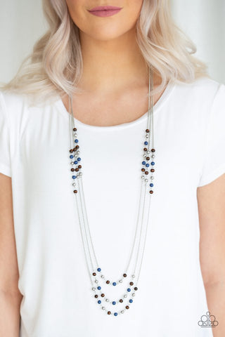 Paparazzi Seasonal Sensation - Blue Necklace