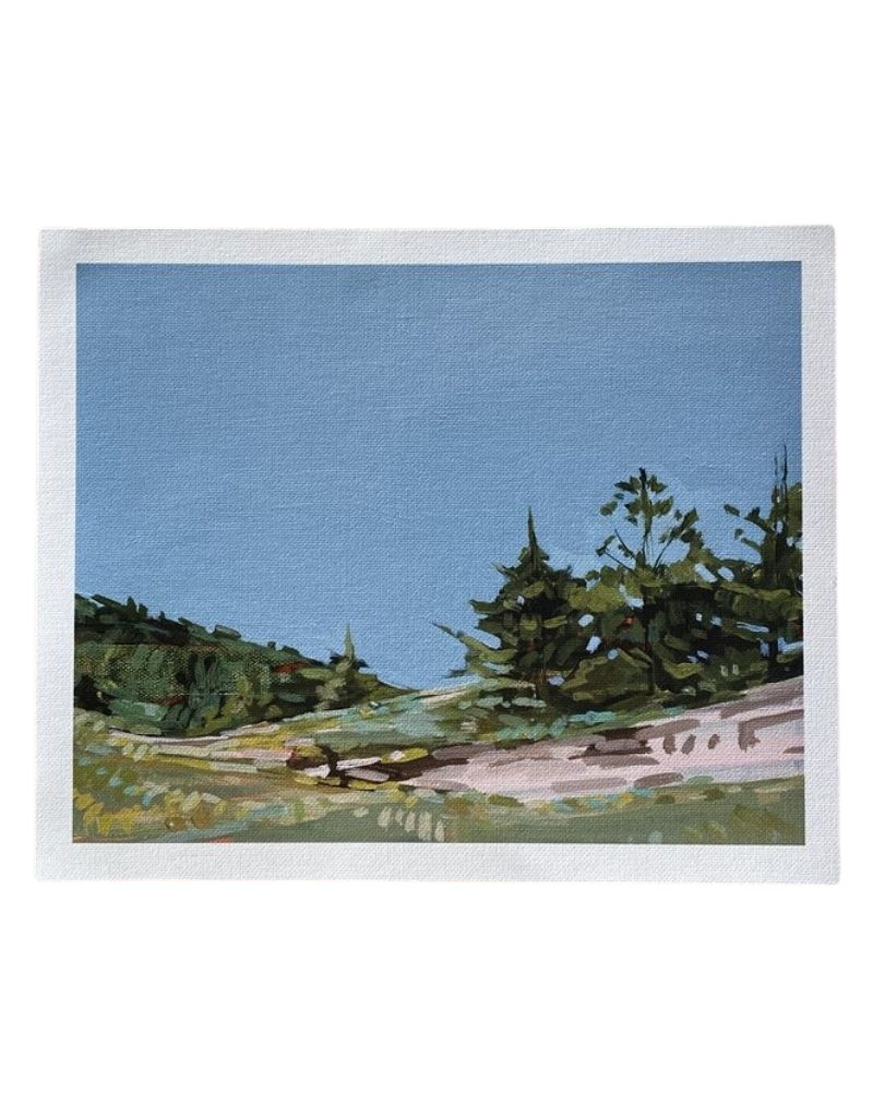 Valley Cove Lookout Print on Canvas 8 x 10