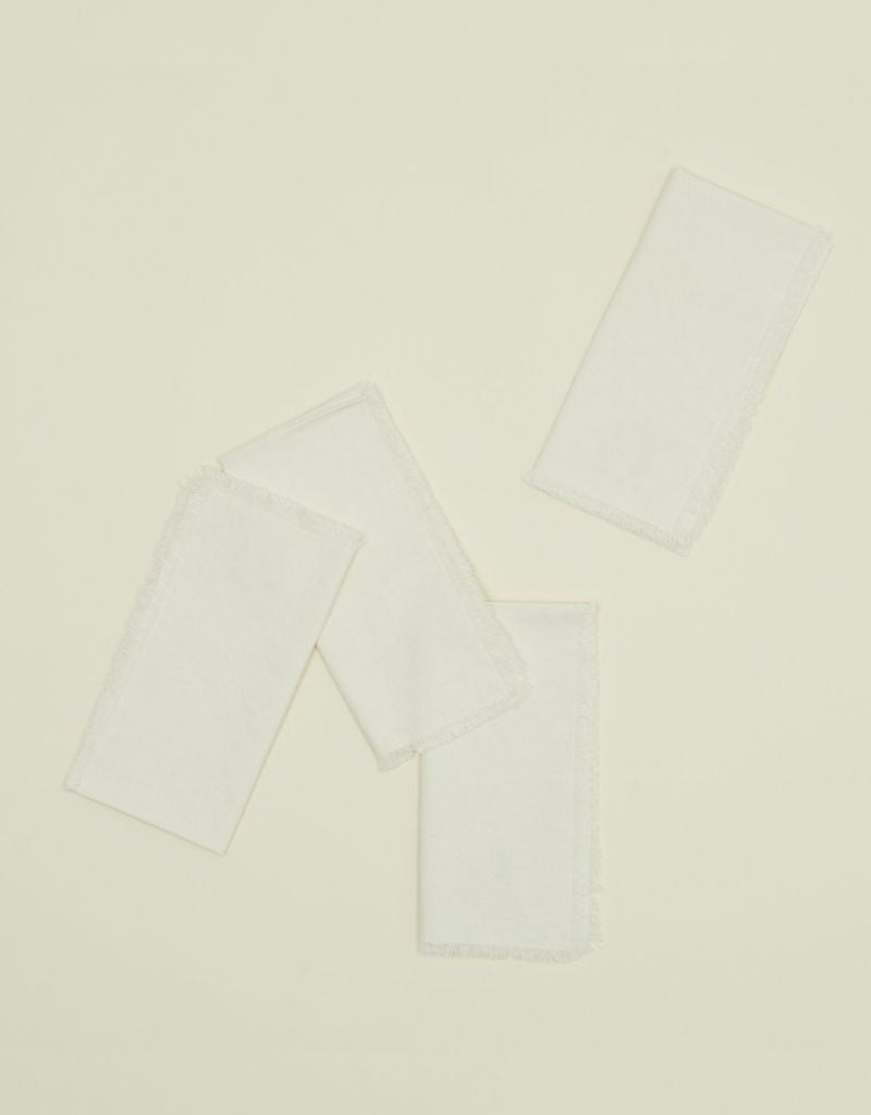 Ivory Dinner Napkin - Set of 4