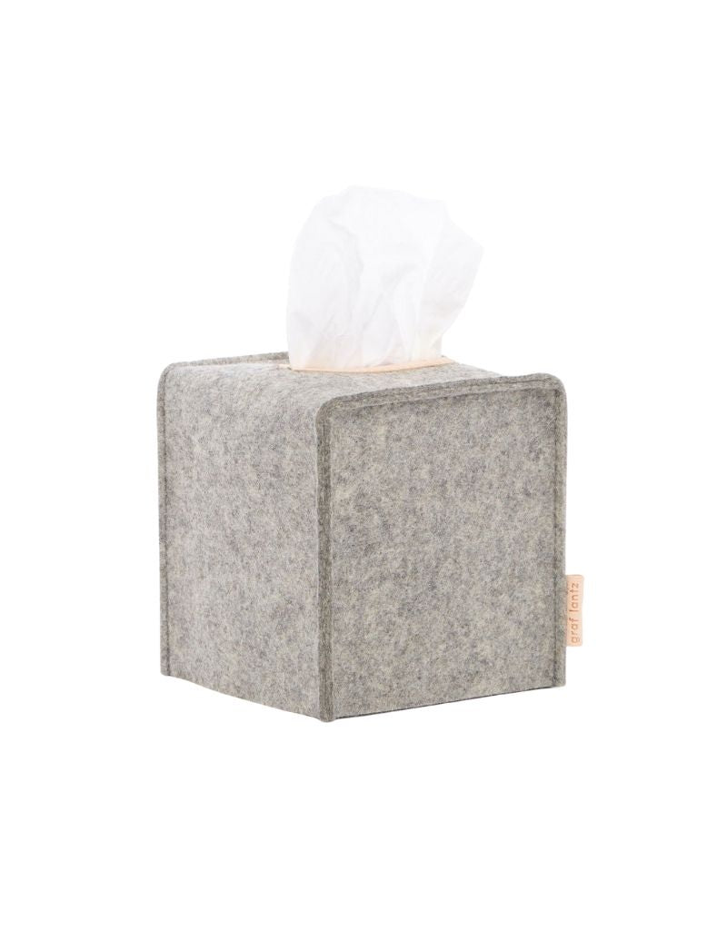 Small Tissue Box Cover, Granite