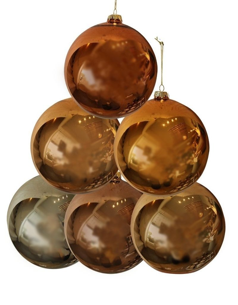 Round Metallic Ornament
