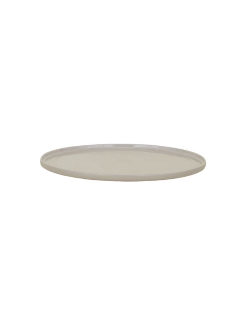 Shaker Serving Platter - Light Grey
