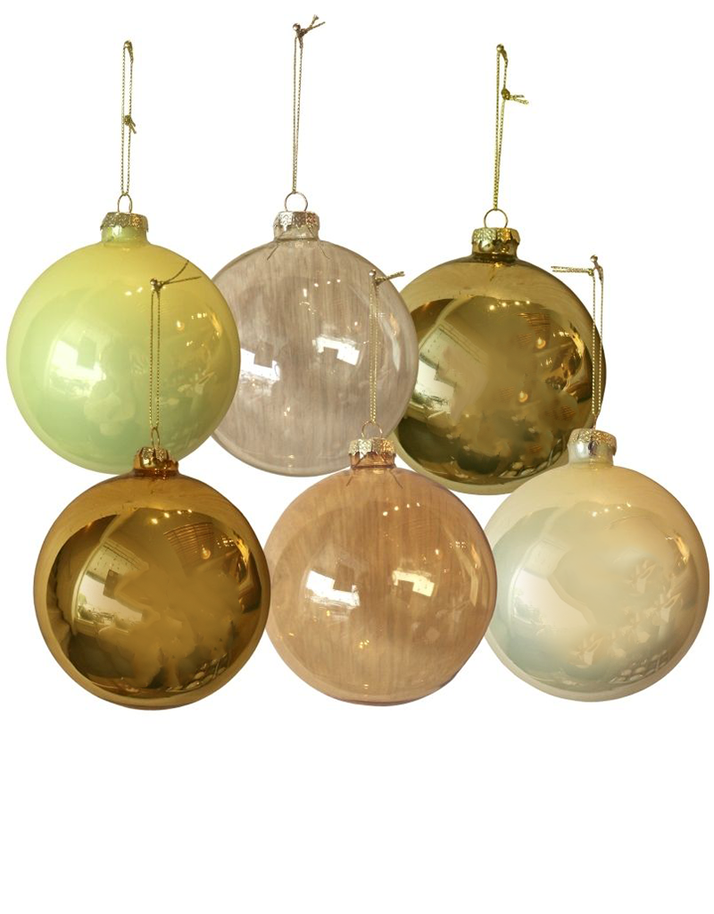 Round Yellow Ornament