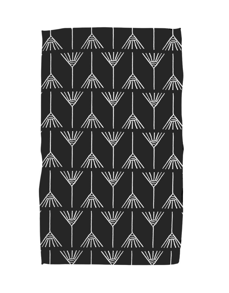 Switch Black Kitchen Tea Towel