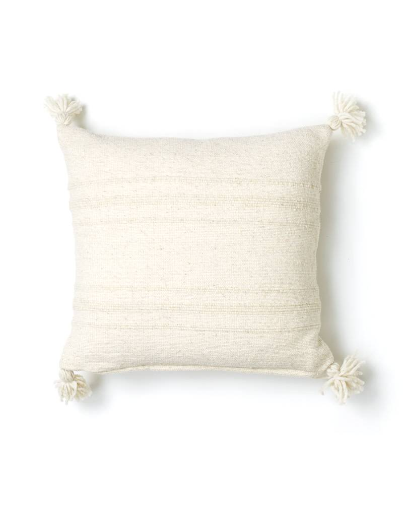 Cream Puro Wool Pillow Cover