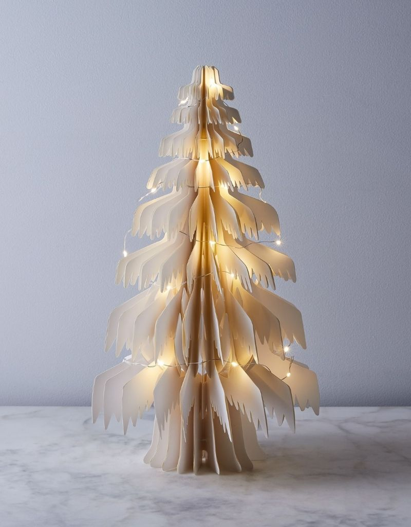 Large White Paper Tree
