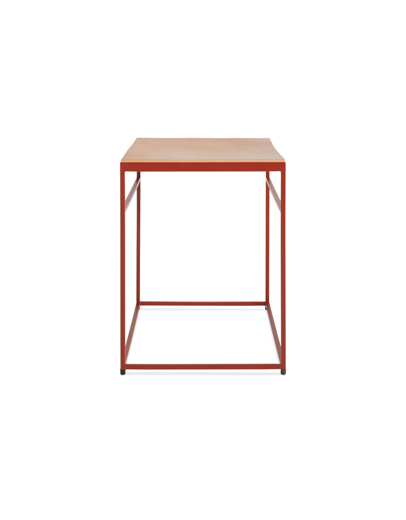 Common Leather Sling Stool