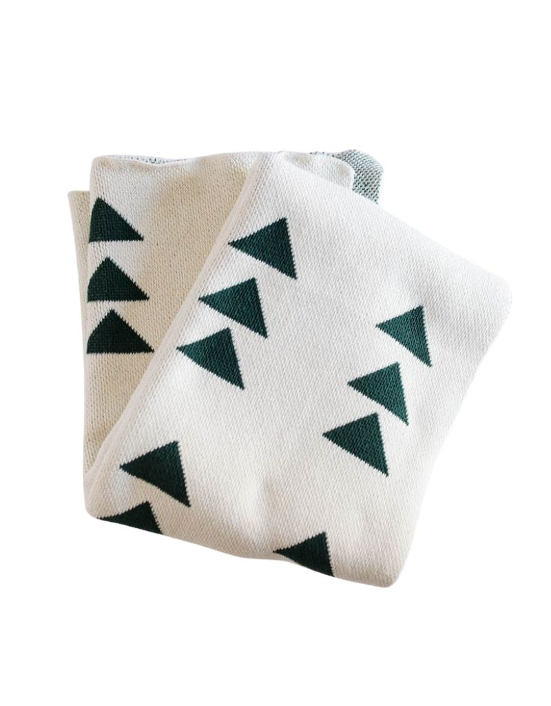 Triple Triangle Eco Throw