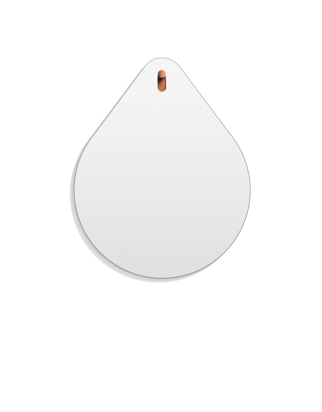 Hang 1 Drop Mirror Walnut