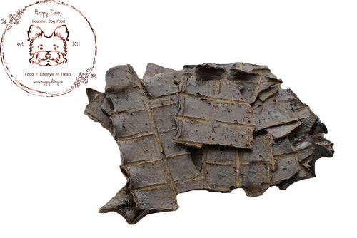 Beef Liver Jerky 100 g / 3.5 oz - Happy Daisy Gourmet Dog Food
