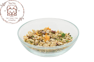 Chicken Medley - 630 g / 22.2 oz (2 Week Supply For 10 Pound Dog) - Happy Daisy Gourmet Dog Food