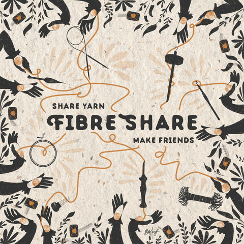 Fibreshare swap 2019, join in on the fun.  Meet new fibre-loving friends and make some connections!