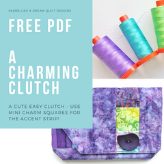 A Charming Clutch - free pattern
