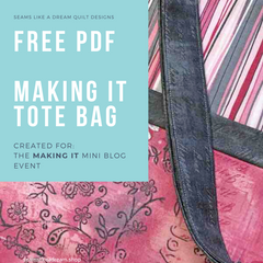 Making It Bag- a free pattern