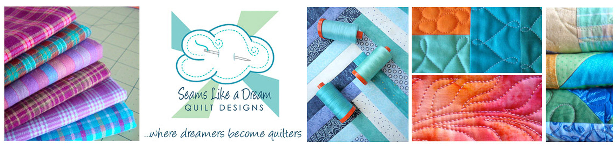 Seams Like A Dream Quilt Designs by Kate Colleran