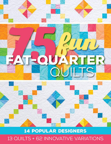 book of fun fat quarter quilts