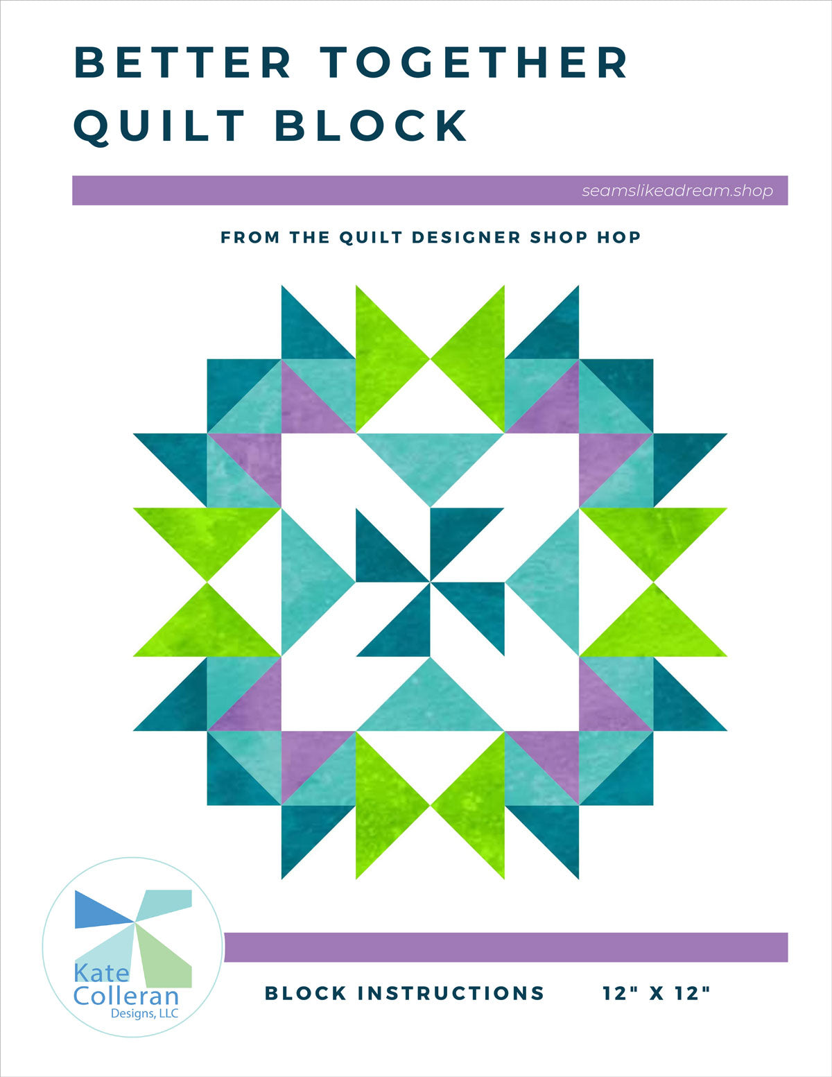 Better Together Quilt Block