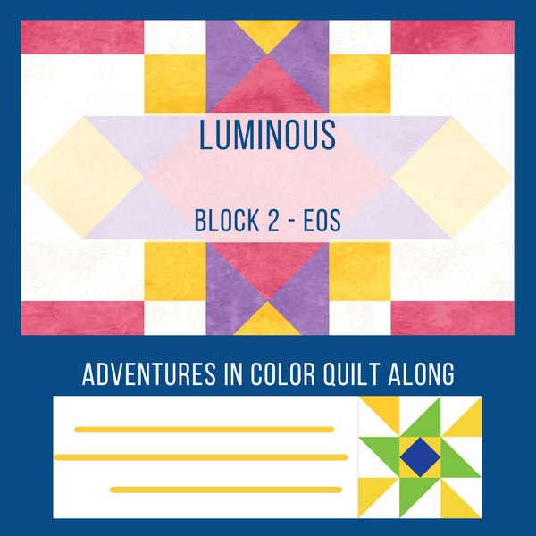Luminous Quilt Block 2