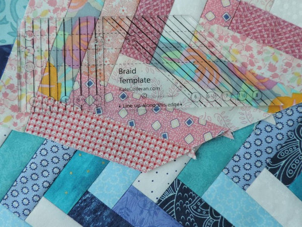 Bundle - Braid Template and Smash Your Precut Stash