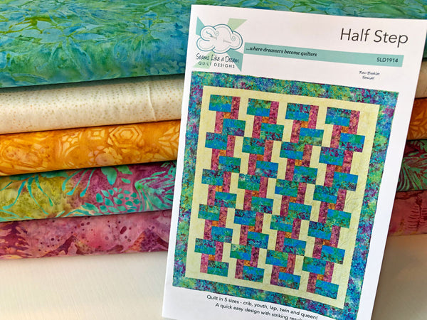Half Step Lap size Quilt Kit