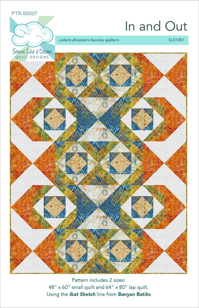 In and Out- flying geese quilt pattern