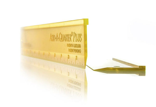 "Add-A-Quarter PLUS 12"" Ruler"