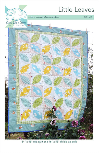 Little Leaves baby quilt pattern
