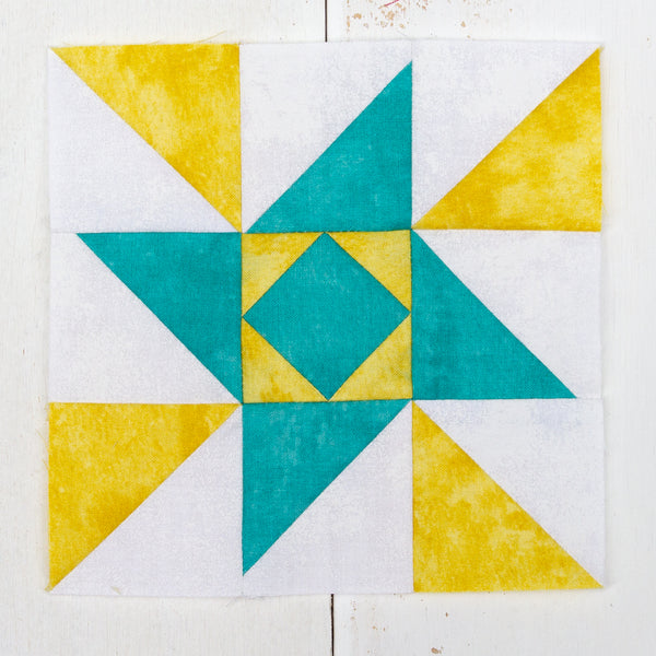 Luminous Quilt Block 1