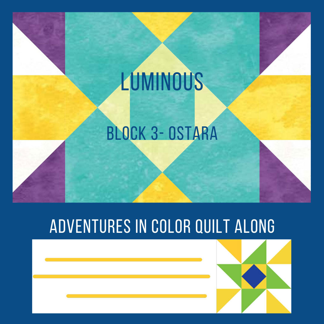 Luminous Quilt Block 3