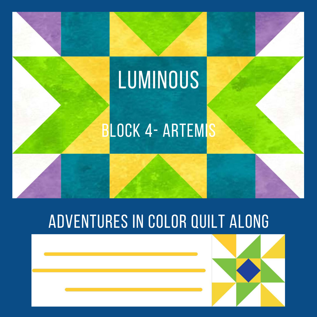 Luminous Quilt Block 4