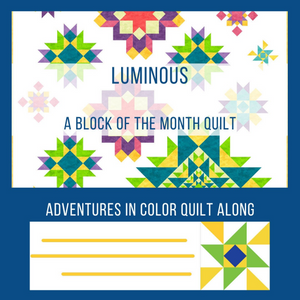 Luminous - Block of the Month PDF full pattern
