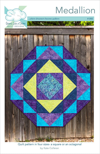 Medallion quilt pattern