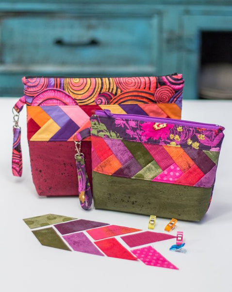 Pack It Up clutch pattern by Seams Like A Dream Quilt Designs