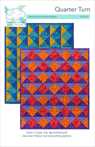 Quarter Turn quilt pattern cover