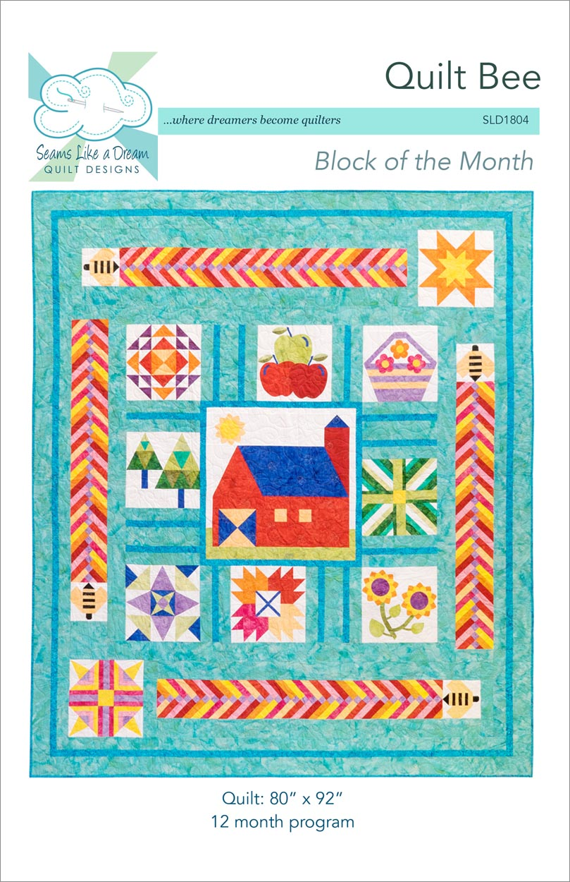 Quit Bee - a BOM quilt pattern