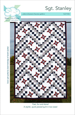 Sgt. Stanely- a star pieced quilt pattern