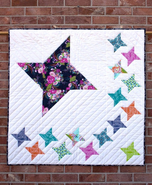 Stella- star wall quilt pattern