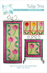 Tulip Trio an applique quilt pattern