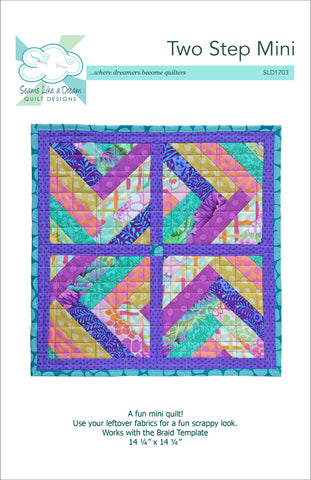 Two Step Mini Quilt pattern