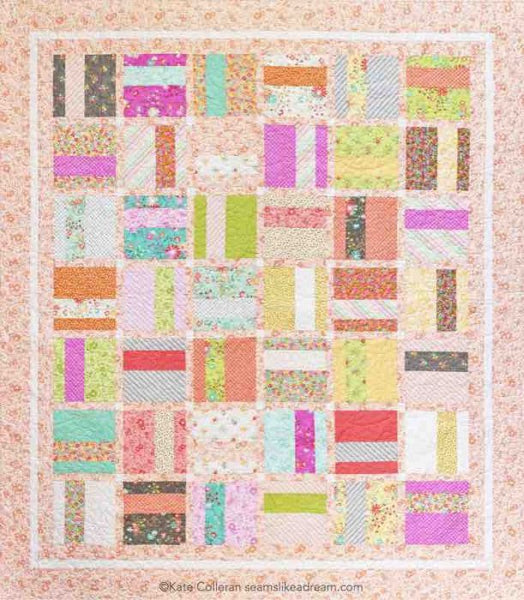 Easy quilt using 5 inch or 10 inch squares