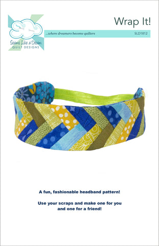 Wrap it!- headband pattern with braid piecing