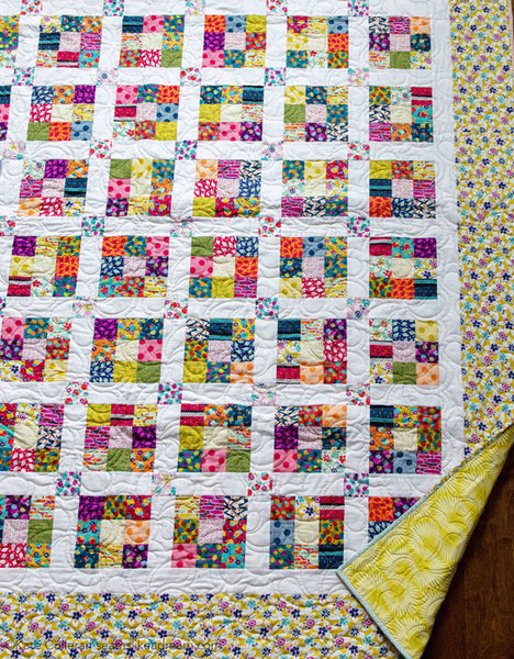Ninth Square - easy to piece strip quilt