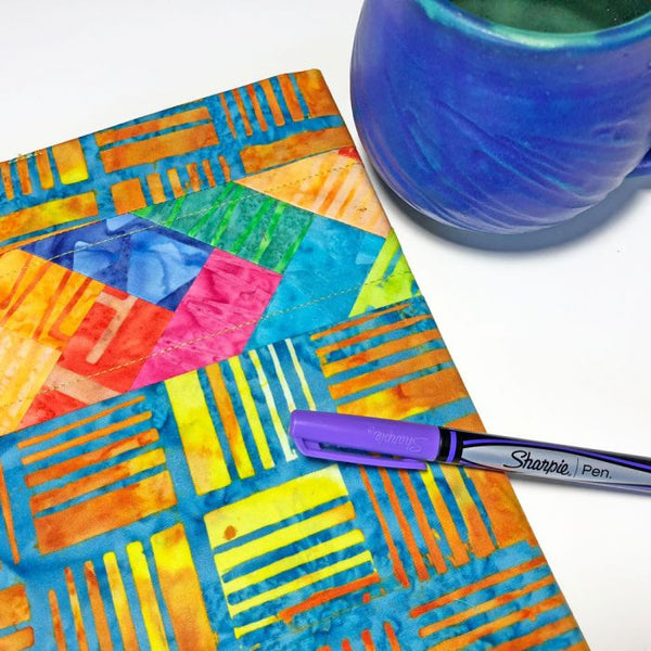 Jot it down!- a batik notebook cover