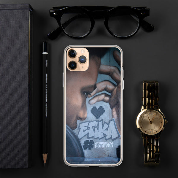 Etika Mural iPhone Case
