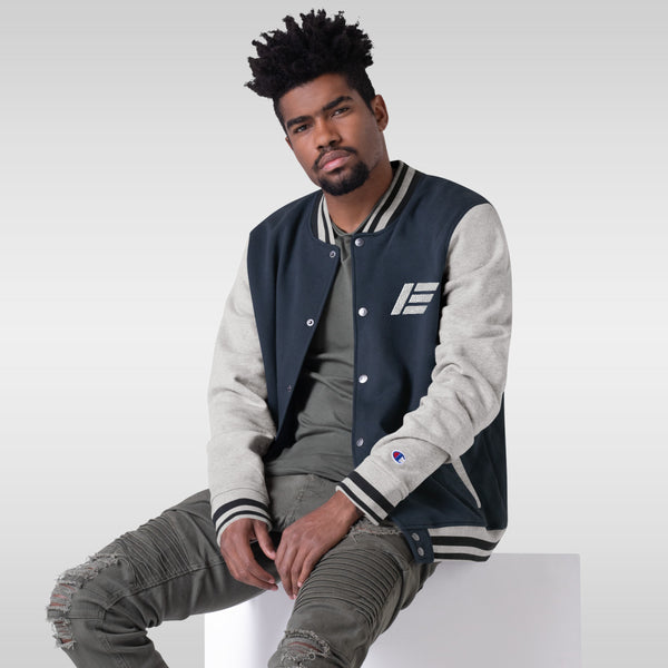 Etika Embroidered Champion Bomber Jacket