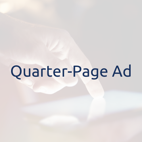 Virtual Journal Ad- Quarter-Page $150 + $10.76 Processing Fee