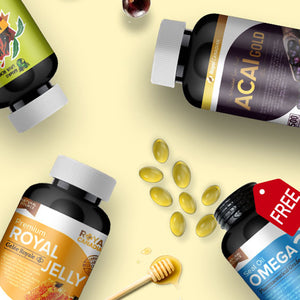 IMMUNE BOOSTER SET + OMEGA3 + FREE SHIPPING