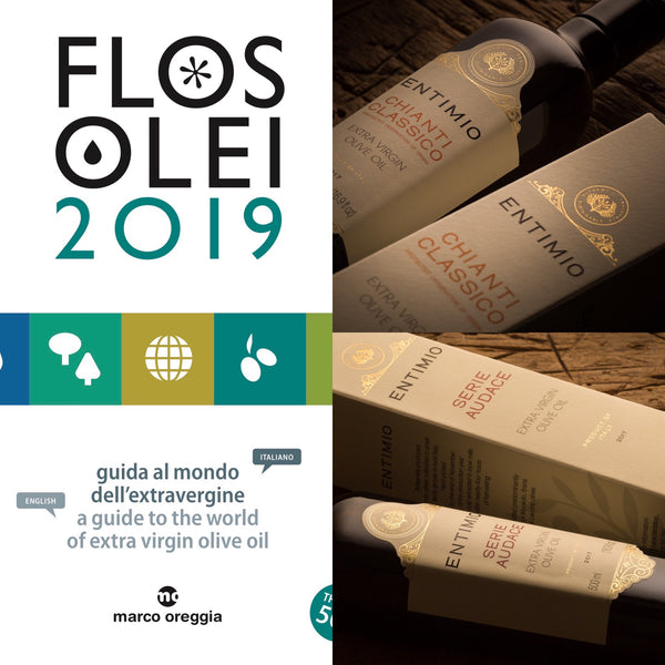Entimio Chianti Classico and Entimio Serie Audace to be included in the prestigious 2019 FlosOlei Guide
